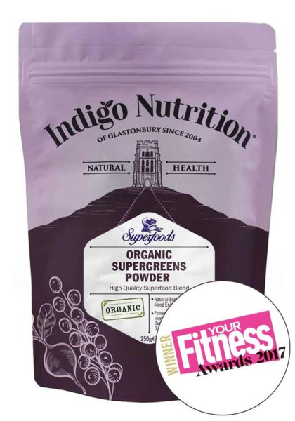 Indigo Nutrition Organic Super Greens Powder
