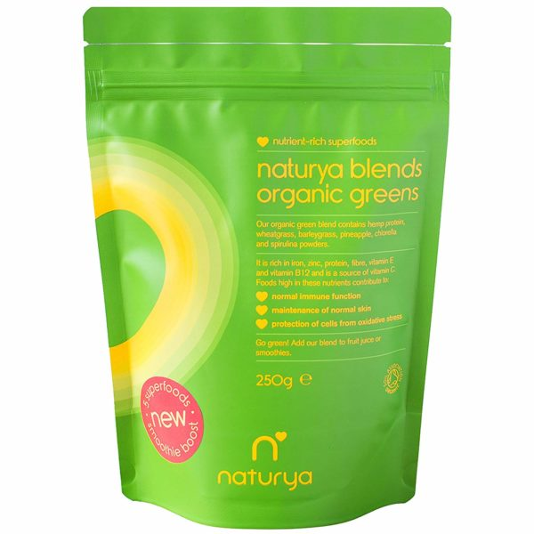 Naturya Blends Organic Green Drink Powder