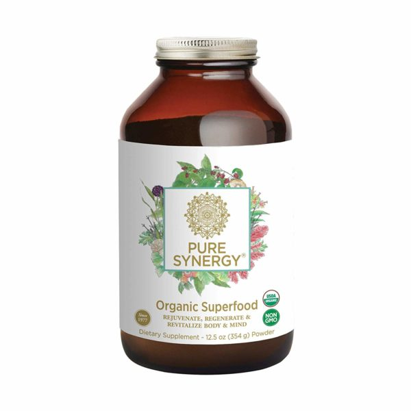 Pure Synergy Organic Green Superfood Drink