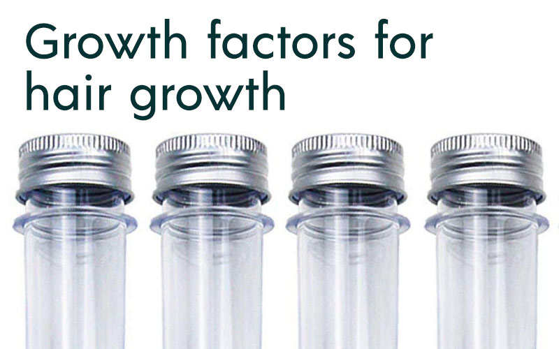 Growth factors for hair growth