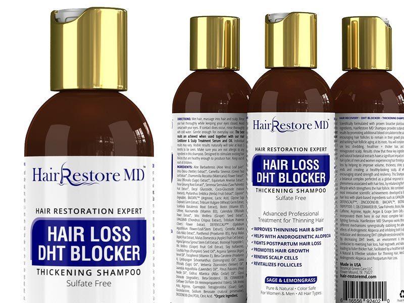 Hair Restore MD hair loss DHT blocker