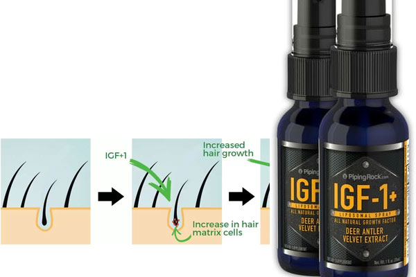 Increase scalp IGF-1