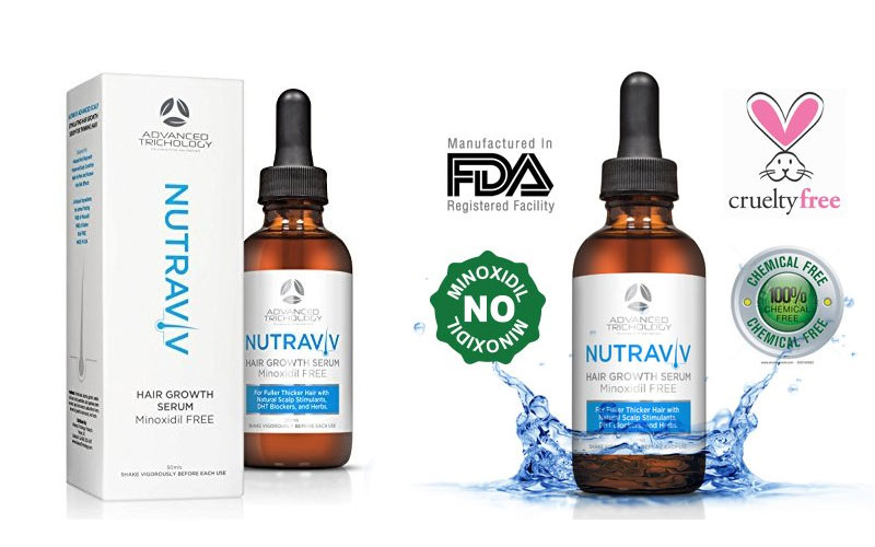 Nutraviv hair growth serum