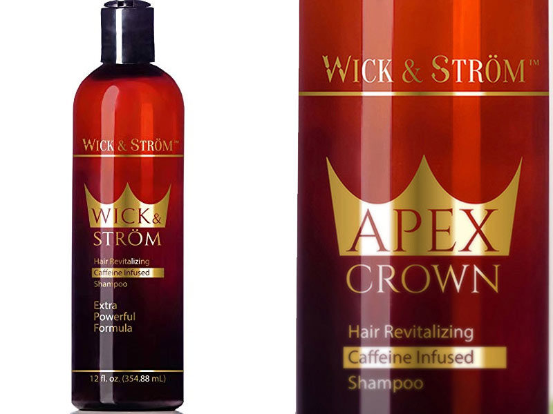 Wick and Strom hair loss shampoo