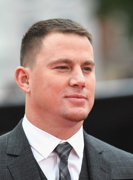 Channing Tatum thin hair